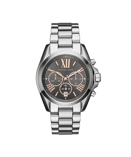 f7a7ae1c2 Menor preço em Relógio Michael Kors Feminino Bradshaw Prata - MK6557/1KN