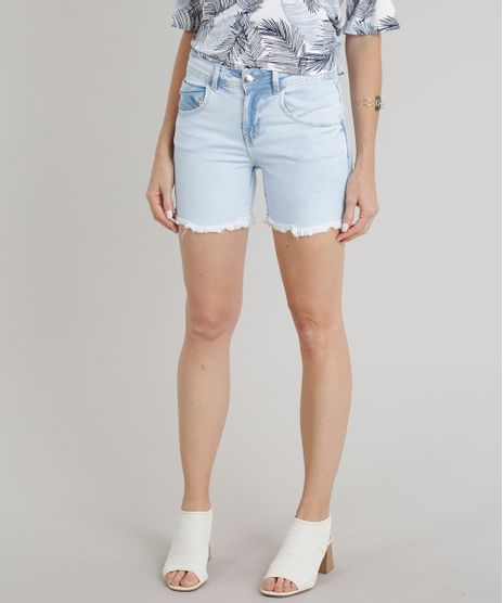 Bermuda-Jeans-Feminino-com-Barra-Desfiada-Azul-Claro-9328482-Azul_Claro_1