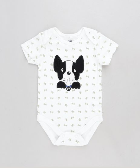 Body-Infantil-Cachorro-Estampado-de-Patinhas-Manga-Curta-Off-White-9110039-Off_White_1