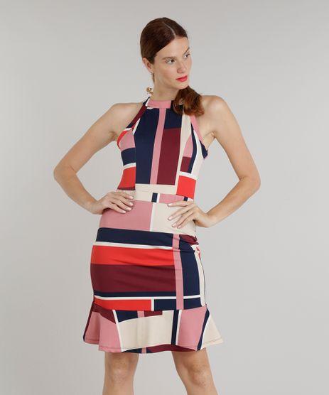Vestido-Feminino-Curto-Halter-Neck-Estampado-Geometrico-Rose-9298263-Rose_1