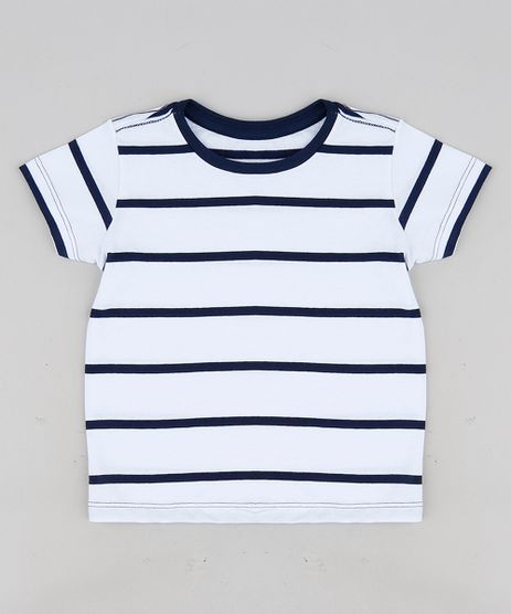 Camiseta-Infantil-Listrada-Manga-Curta-Gola-Careca-Branca-9302991-Branco_1