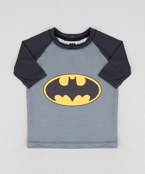 Camiseta-de-Praia-Infantil-Batman-Raglan-Manga-Curta-Chumbo-9227632-Chumbo_1