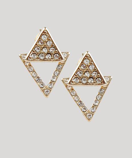 Brinco-Feminino-Geometrico-com-Strass-Dourado-9219494-Dourado_1