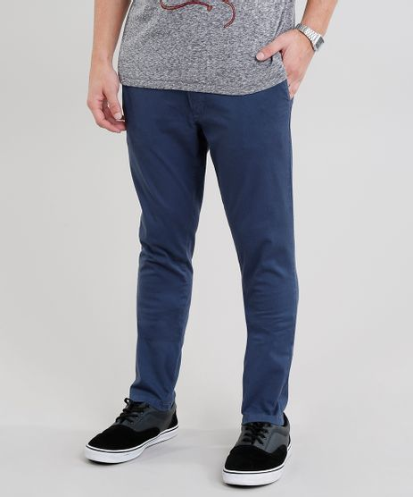 Calca-de-Sarja-Masculina-Chino-Skinny-Azul-Marinho-9250047-Azul_Marinho_1