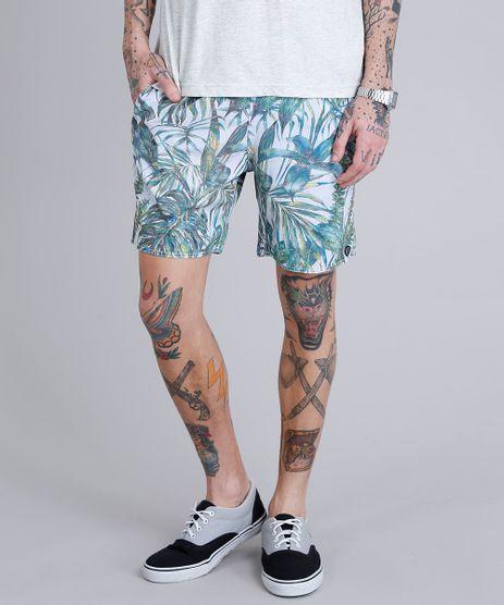 Short-Masculino-Estampado-de-Folhagem-com-Bolsos-Off-White-9159014-Off_White_1