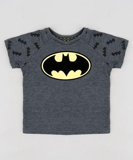 Camiseta-Infantil-Batman-Raglan-Manga-Curta-Gola-Careca-Cinza-Mescla-Escuro-9300557-Cinza_Mescla_Escuro_1