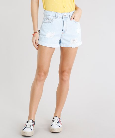 Short-Jeans-Feminino-Mom-com-Puidos-Delave-9274695-Delave_1