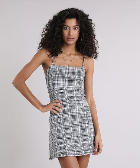 Vestido-Feminino-Xadrez-em-Jacquard-Curto-Alcas-Finas-Off-White-9257468-Off_White_1