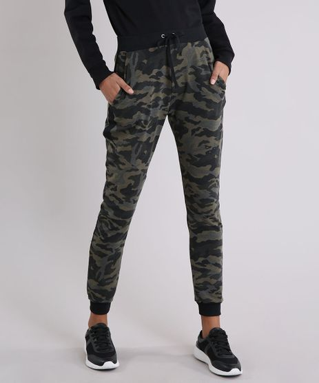 Calca-Feminina-Jogger-em-Moletom-Estampada-Camuflada-Verde-Militar-9248146-Verde_Militar_1