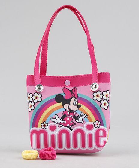 Bolsa-Infantil-Minnie---Elasticos-de-Cabelo-Rosa-9239119-Rosa_1