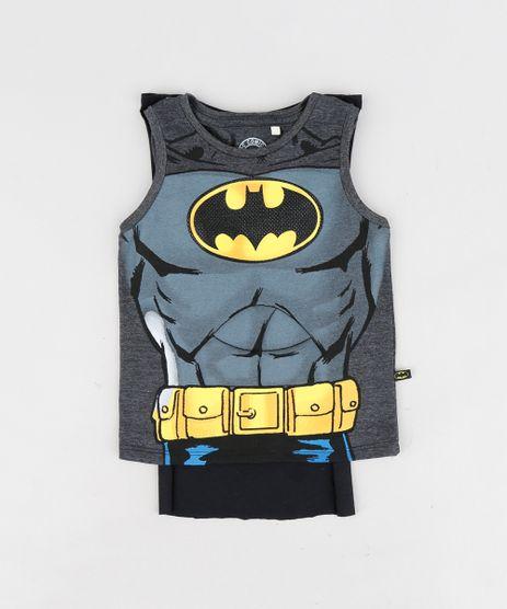 Regata-Infantil-Batman-com-Capa-Gola-Careca-Cinza-Mescla-Escuro-9233873-Cinza_Mescla_Escuro_1