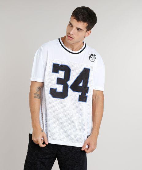 Camiseta-Masculina-Ampla-Kings-Sneakers--34--Manga-Curta-Gola-Careca-Branca-9286095-Branco_1