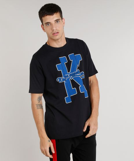Camiseta-Masculina-Kings-Sneakers-Manga-Curta-Gola-Careca- fd95467b56a