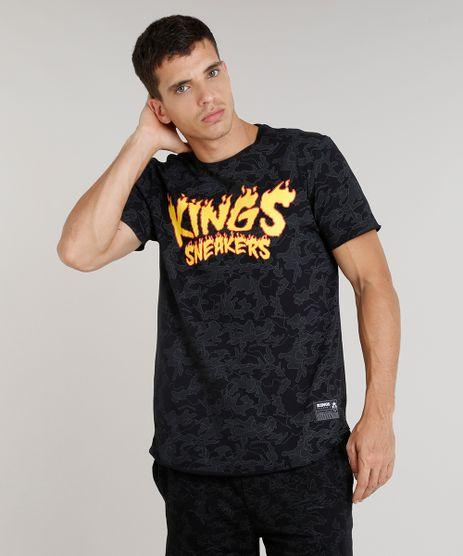 Camiseta-Masculina-Kings-Sneakers-Estampada-Camuflada-Manga-Curta-Gola-Careca-Preta-9285486-Preto_1