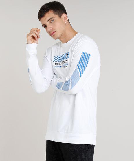 Camiseta-Masculina-Kings-Sneakers--Street-Style--Manga-Longa-Gola-Careca-Branca-9285490-Branco_1