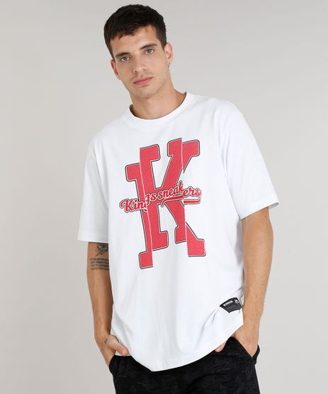 Camiseta-Masculina-Kings-Sneakers-Manga-Curta-Gola-Careca-Branca-9285488-Branco_1