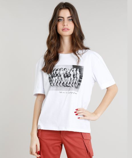 T-shirt-Feminina-Manga-Curta-com-Estampa--Take-Me-To-La-Playa-Please-----Branca-9374627-Branco_1