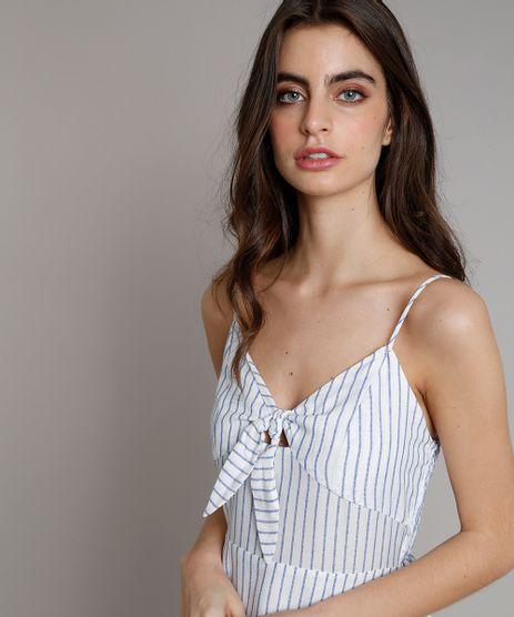 Vestido-Midi-Listrado-com-Laco-e-Fendas-Alcas-Finas-Decote-V-Off-White-9258508-Off_White_2
