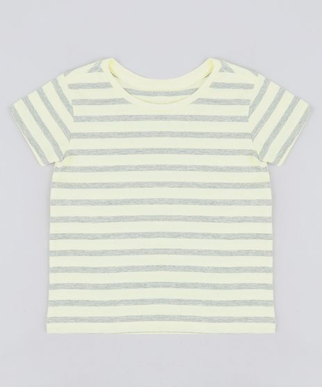 Camiseta-Infantil-Listrada-Manga-Curta-Gola-Careca-Amarela-9232223-Amarelo_1