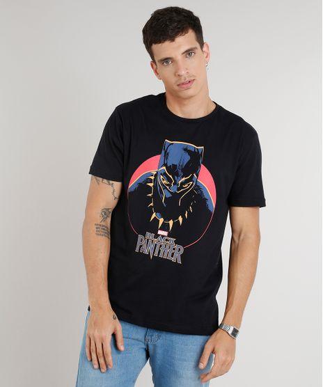 Camiseta-Masculina-Pantera-Negra-Manga-Curta-Gola-Careca-Preta-9303776-Preto_1