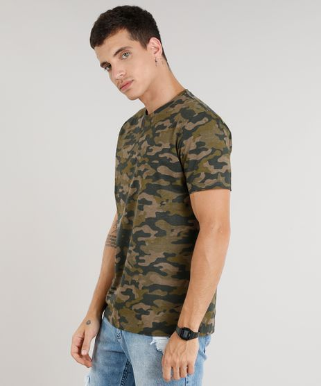 Camiseta-Masculina-Estampada-Camuflada-Manga-Curta-Gola-Careca-Marrom-9293677-Marrom_1