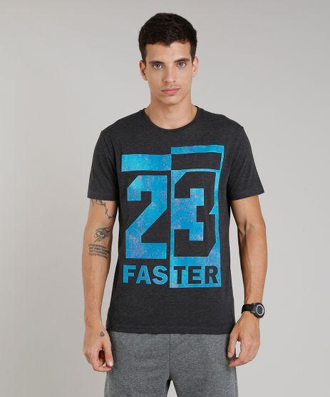 Camiseta-Masculina-Esportiva-Ace--Faster--Manga-Curta-Decote-Redondo-Cinza-Mescla-Escuro-9190763-Cinza_Mescla_Escuro_1