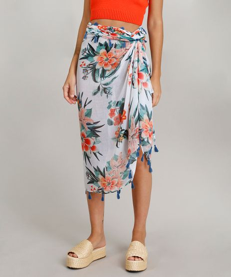 Lenco-Dress-To-Estampado-Floral-com-Tassel-Branco-9249287-Branco_1