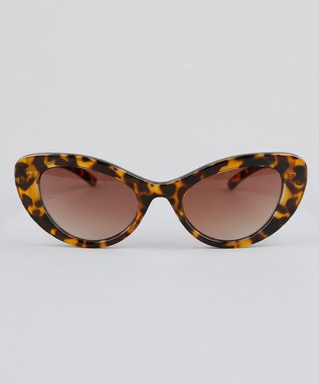 Oculos-de-Sol-Gatinho-Feminino-Oneself-Tartaruga-9341006-Tartaruga_1