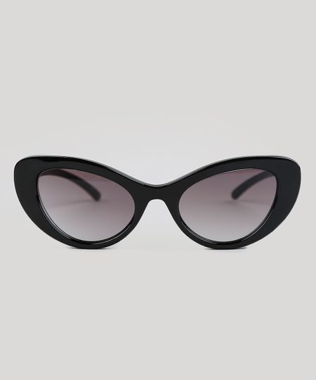 Óculos de Sol Gatinho Feminino Dress To Preto - cea a4e91cf106