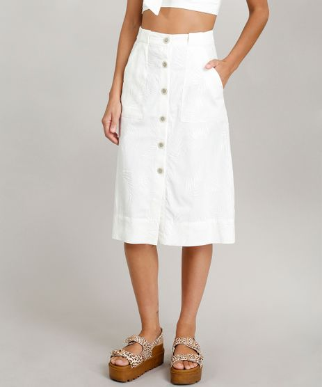 Saia-Midi-Feminina-Dress-To-Linho-Bordado-de-Ramos-Off-White-9226556-Off_White_1