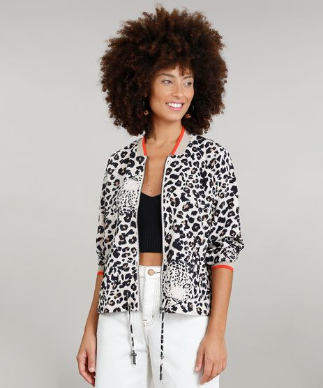Jaqueta-Bomber-Feminina-Dress-To-Estampada-Animal-Print-Manga-Longa-Bege-Claro-9225246-Bege_Claro_1
