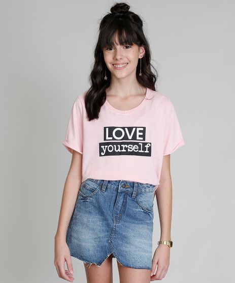 Blusa-Infantil-Cropped-Ampla-Love-Dress--Love-Yourself--Manga-Curta-Decote-Redondo-Rosa-Claro-9283506-Rosa_Claro_1