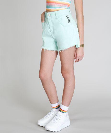 Short-Color-Infantil-Love-Dress--Verde-Claro-9304303-Verde_Claro_1