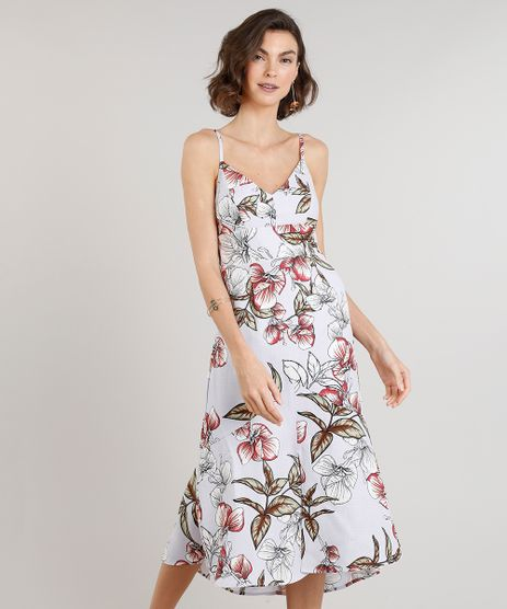 Vestido-Feminino-Midi-Estampado-Floral-com-Fenda-e-Babado-Alcas-Finas-Decote-V-Lilas-9243806-Lilas_1