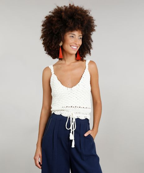 Regata-Cropped-Feminina-Dress-To-em-Croche-com-Tassel-Decote-V-Off-White-9226941-Off_White_1
