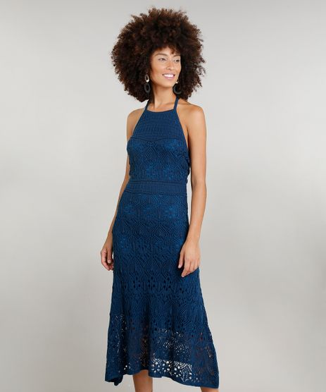 Vestido-Feminino-Halter-Neck-Midi-Dress-To-em-Croche-Azul-9226945-Azul_1