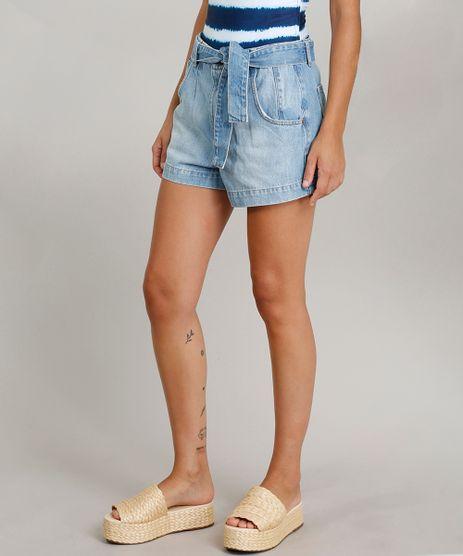 Short-Jeans-Feminino-Mom-Dress-To-com-Cinto-Azul-Claro-9269780-Azul_Claro_1