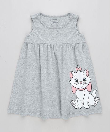 e4fdaa111d Vestido-Infantil-Marie-Sem-Manga-Cinza-Mescla-9320876- ...