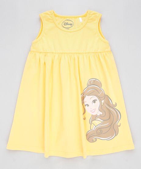 Vestido-Infantil-Princesas-Bela-Sem-Manga-Amarelo-9320877-Amarelo_1