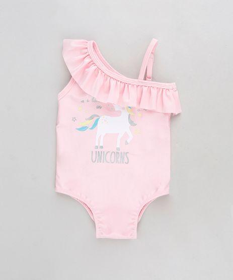 Maio-Infantil-Um-Ombro-So-Unicornio-com-Babado-e-Protecao-UV50--Rosa-9280919-Rosa_1