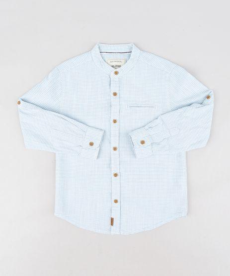 Camisa-Infantil-Listrada-com-Bolso-Manga-Longa-Azul-Claro-9201665-Azul_Claro_1