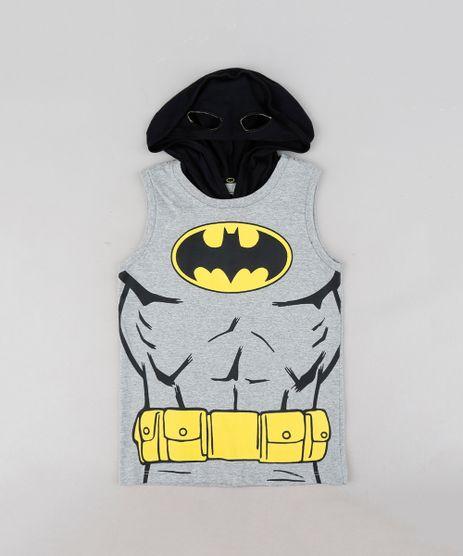 Regata-Infantil-Batman-com-Capuz-com-Mascara-Cinza-Mescla-9322332-Cinza_Mescla_1