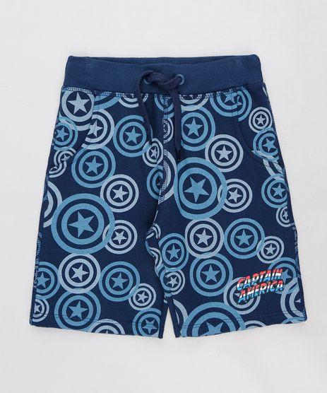 Bermuda-Infantil-Estampada-Capitao-America-em-Moletom-Azul-Marinho-9241508-Azul_Marinho_1