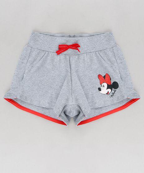Short-Infantil-Minnie-com-Laco-Cinza-Mescla-9316295-Cinza_Mescla_1