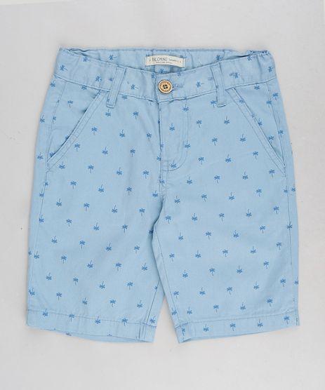 Bermuda-Color-Infantil-com-Estampa-de-Coqueiros-Azul-Claro-9313001-Azul_Claro_1