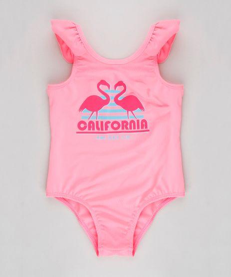 Maio-Infantil--California--com-Protecao-UV50--Rosa-Neon-9280961-Rosa_Neon_1