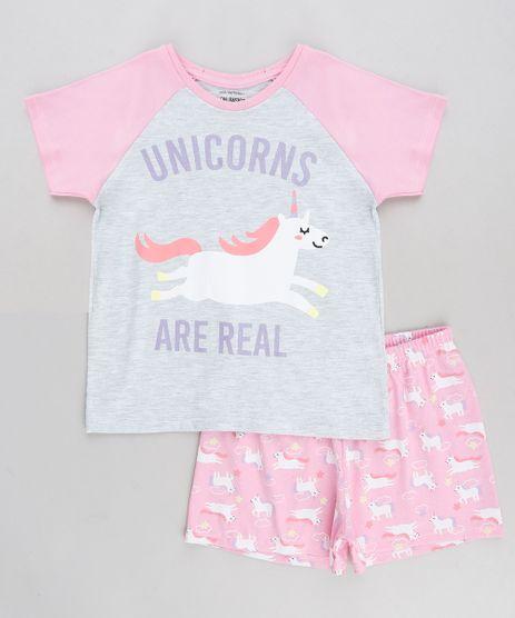 Pijama-Infantil-Unicornio-Manga-Curta-Rosa-9288065-Rosa_1