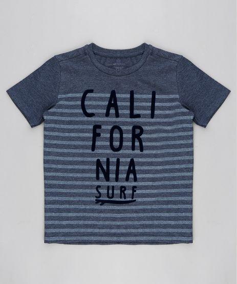 Camiseta-Infantil--California-Surf--Manga-Curta-Gola-Careca-Azul-9233834-Azul_1