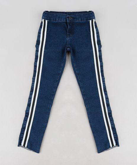Calca-Jeans-Infantil-com-Faixa-Lateral-Listrada-Azul-Escuro-9228912-Azul_Escuro_1