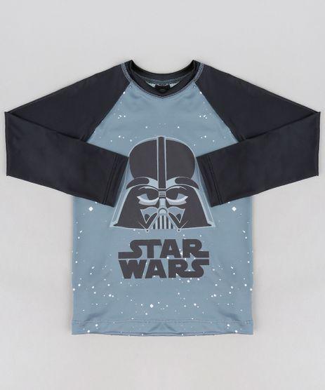 Camiseta-de-Praia-Infantil-Darth-Vader-Star-Wars-com-Protecao-UV50--Chumbo-9228734-Chumbo_1